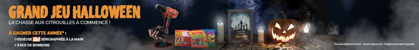 bannière jeu concours Halloween